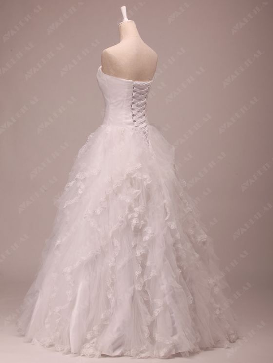 Princess Wedding Dress - Joanna  - Side