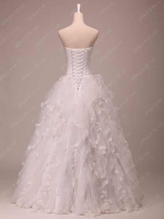 Princess Wedding Dress - Joanna  - Side View