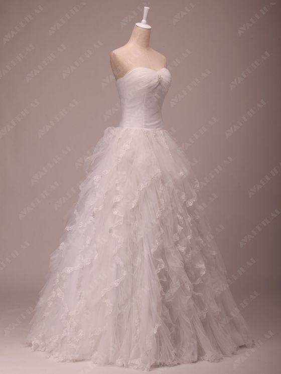Princess Wedding Dress - Joanna  - Back