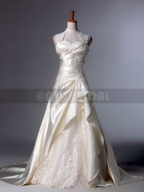 Fall Wedding Dress - Rachael - Front