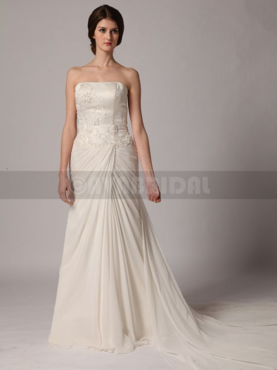 Beach Style Wedding Dress - Yvonne - Front