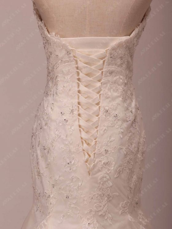 Lace Wedding Dress - Grace - Bodice