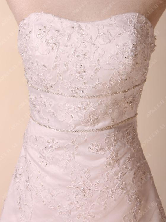 Beach Wedding Dress - Gabrielle - Side Close