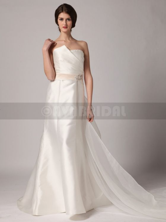 Non Traditional Wedding Dress - Shirley -front 3