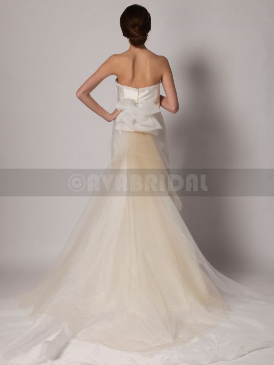 Non Traditional Wedding Dress - Shirley -Back