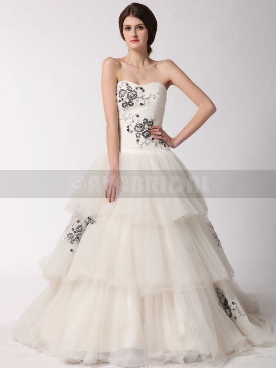 Alternative Wedding Dress- Alyssia- Front Skirt