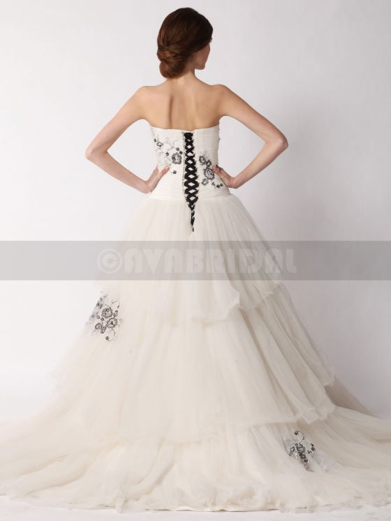 Alternative Wedding Dress-Alyssia- Back