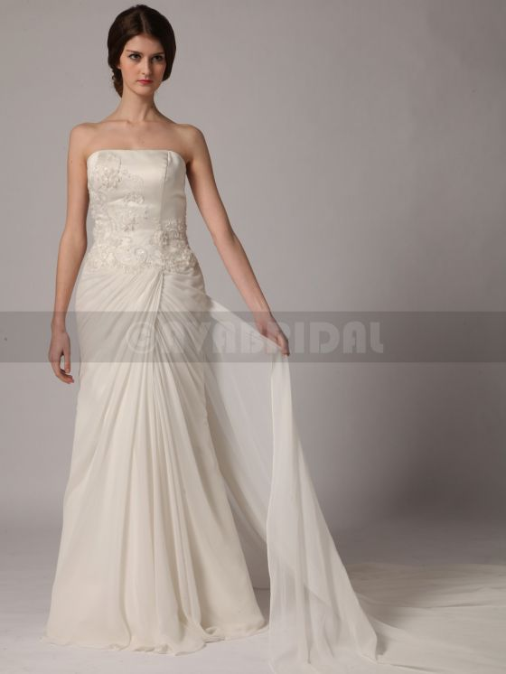 Beach Style Wedding Dress - Yvonne -Front 2