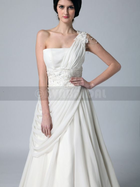 Grecian Goddess Wedding Dress - Zoe -bodice