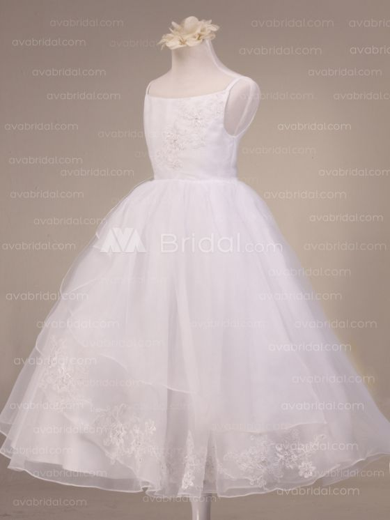 flower girl dress-front