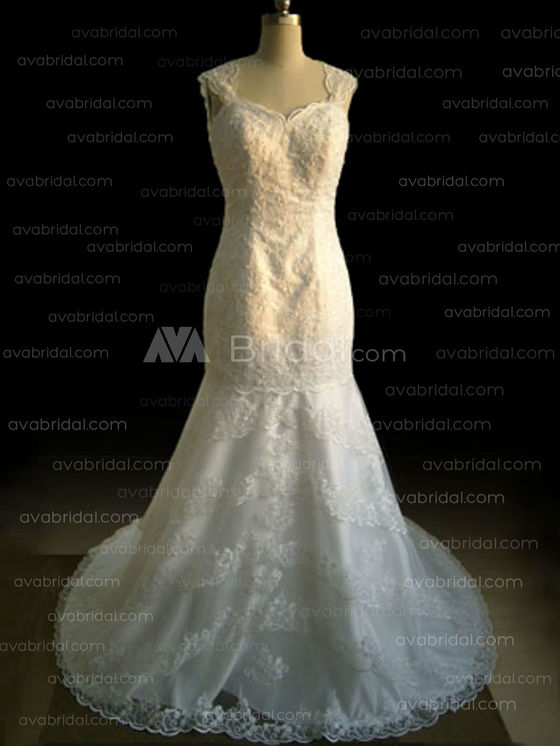 Vintage Wedding Dress - Katrina - Front