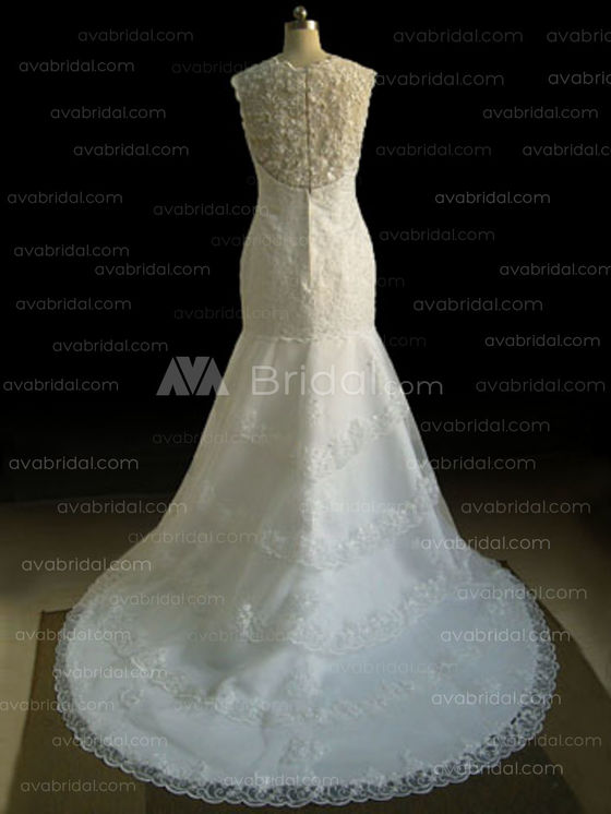 Vintage Wedding Dress - Katrina - Back