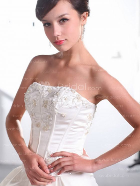 Modern Wedding Gown - Michelle-Bodice