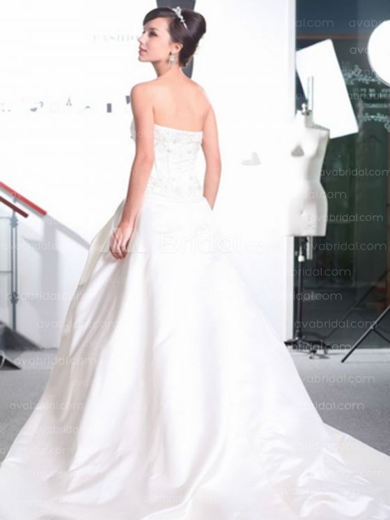 Modern Wedding Gown - Michelle - Back
