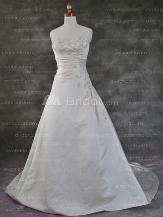 Modest Wedding Gown - Mary - Front