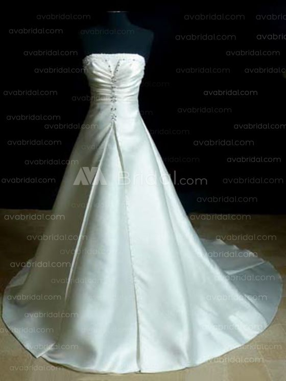 Modest Wedding Gown - Charly - Front