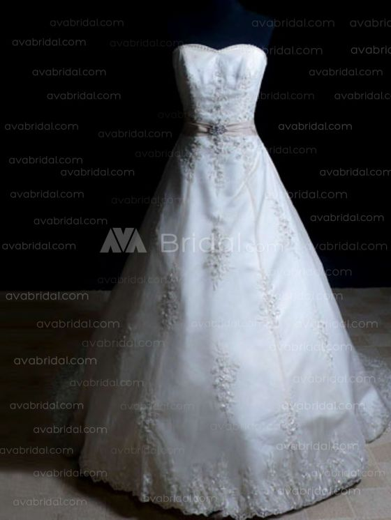 Modest Wedding Gown - Hartlyn - Front