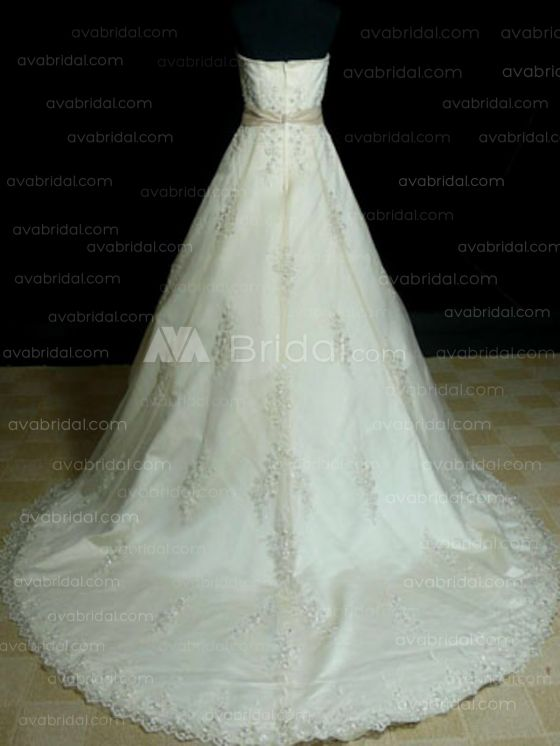 Modest Wedding Gown - Hartlyn - Back