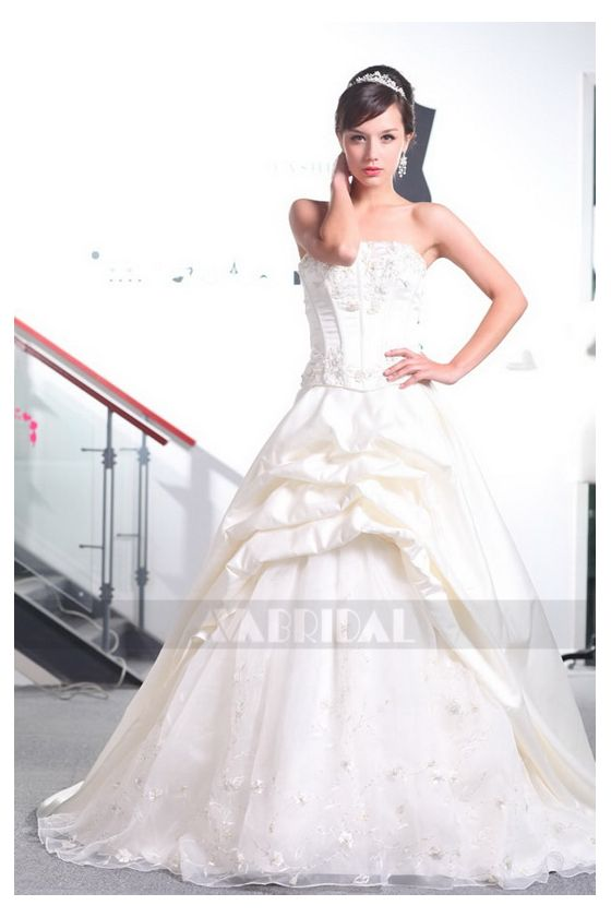 Modern Wedding Gown - Michelle - Front